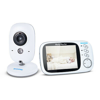 Digital VOX Video Baby Monitor Wireless Camera Remote Motion Audio Night Vision