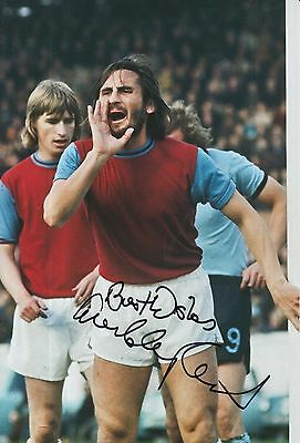 Frank Lampard Hand Signed West Ham United 12x8 Photo.