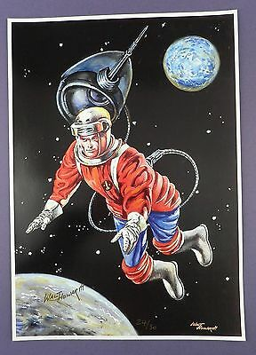 DAN DARE 1965 EAGLE ANNUAL - Limited Edition Hand Signed Walt Howarth Print