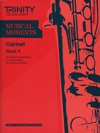 MUSICAL MOMENTS CLARINET Book 4 Score & Part*