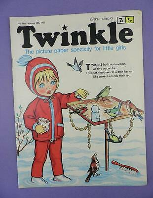 Twinkle Comic, Picture Paper For Little Girls #160 February 13th 1971