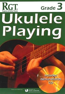RGT UKULELE PLAYING Grade 3 + CD*