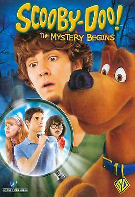 Scooby-Doo: The Mystery Begins (DVD, 2009) NEW