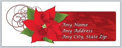 30 Personalized Address Labels Christmas Buy 3 get 1 free (ac 453)