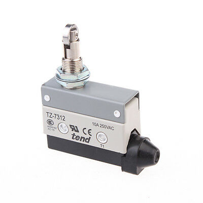 2A/250VAC SPDT Cross Roller Plunger Momentary Limit Switch Microswitch