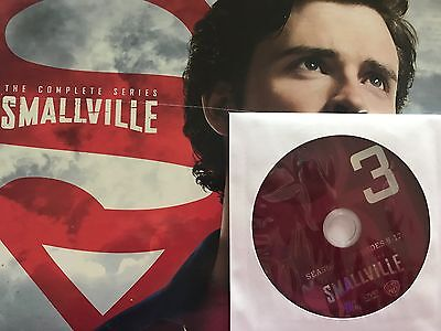 Smallville - Season 1, Disc 3 REPLACEMENT DISC (not full season)