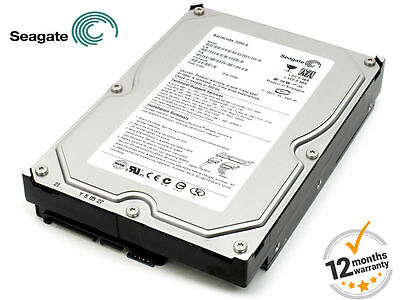 "Seagate Hard Drive 750GB HDD SATA 3.5"" 72000rpm Desktop CCTV DVR PVR ST3750640NS"