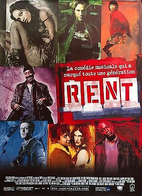 """Rent Original French Movie Poster 2005 Rolled 69"""" X 47"""" D/S Mint"""