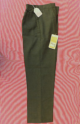 School uniform trousers Vintage 1970s Ladybird UNUSED grey slimline 13 Sarille