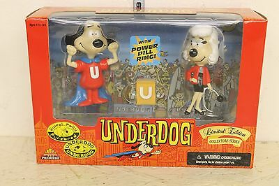 Underdog Figures Underdog and Sweet Polly Purebred in box