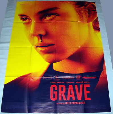 RAW Julia Ducournau Grave Cannibalism Garance Marillier LARGE French POSTER