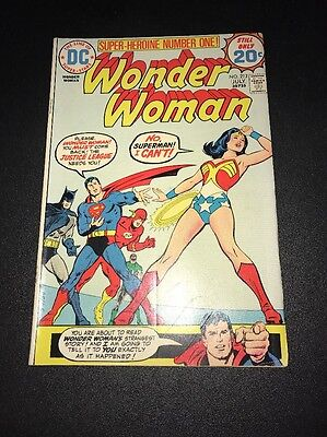 Wonder Woman #212 Awesome Justice League Appearance !!