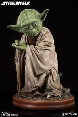 Sideshow Star Wars Life-Size Statue Yoda 81 cm Life Size 1:1