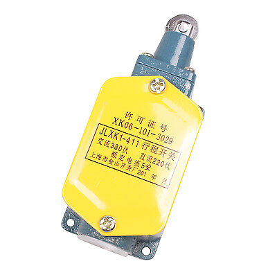 JLXK1-411Push Type Parallel Roller Plunger SPDT Momentary Limit Switch