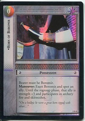 Lord Of The Rings CCG Foil Card RotEL 3.R42 Horn Of Boromor