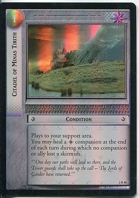 Lord Of The Rings CCG Foil Card RotEL 3.R40 Citadel Of Minas Titith