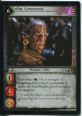 Lord Of The Rings CCG Foil Card RotEL 3.R64 Orc Commander