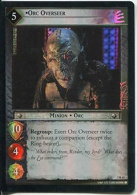 Lord Of The Rings CCG Foil Card RotEL 3.R65 Orc Overseer