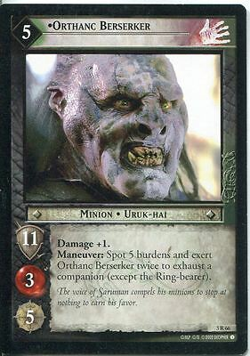 Lord Of The Rings CCG Card RotEL 3.R66 Orthanc Berserker