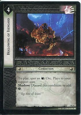 Lord Of The Rings CCG Card RotEL 3.R54 Hollowing Of Isengard