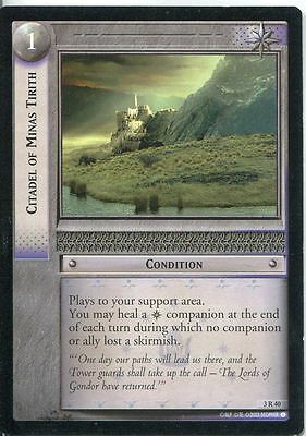 Lord Of The Rings CCG Card RotEL 3.R40 Citadel Of Minas Titith