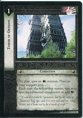 Lord Of The Rings CCG Card RotEL 3.R71 Tower Of Orthanc