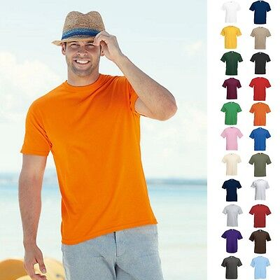 5er Sets Pack 5x Herren T-Shirts Value F140 Valueweight Fruit of the loom S-5XL
