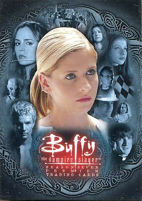 Inkworks Buffy TVS Season 7 Ultimate Collection Complete 90 Card Base Set