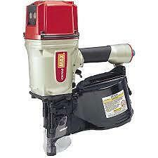 "Max CN100 Heavy Duty Pneumatic Pallet Coil Nailer 2 1/2""-4"" NEW"