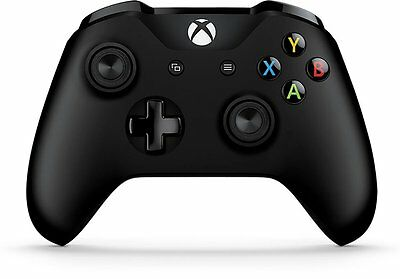 Microsoft Xbox One/Xbox One S Wireless Controller 6CL-00001 (Black) - Bluetooth™
