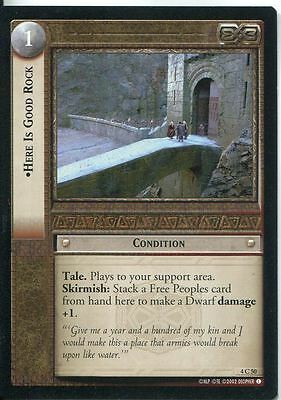 Lord Of The Rings CCG Card TTT 4.R41 Axe Of Erebor