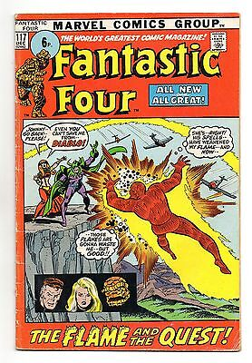 Fantastic Four Vol 1 No 117 Dec 1971 (FN-) Marvel, Bronze Age (1970 - 1979)