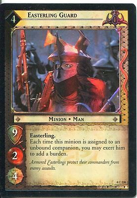 Lord Of The Rings CCG Card TTT 4.C228 Easterling Lieutenant