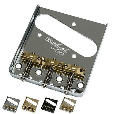 "Wilkinson WTB Telecaster ""Ash-Tray"" Bridge - Compensated Saddles"