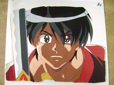 The Vision Of Escaflowne Van Fanel Anime Production Cel 15