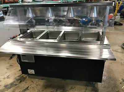 Vollrath 37040 4-Well Hot Food Station