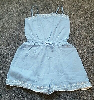 Mini Boden Girls FABULOUS Playsuit cotton Shorties. Size 11-12 Years. Brand new.