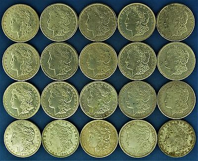 Lot of (20) 1921 Silver Morgan Dollars (a79.16)