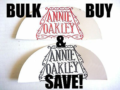 WHOLESALE! 20x ANNIE OAKLEY COWGIRL VINTAGE CELLULOID PATCHES AUSSIE WHOLESALE!!