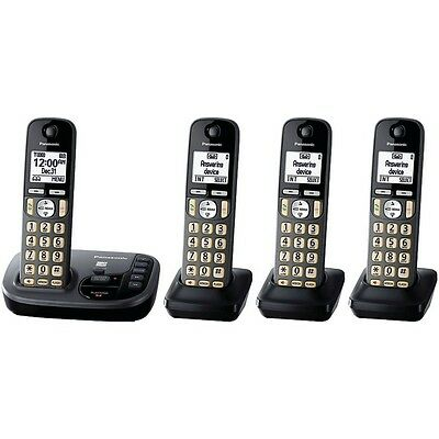 Panasonic Kx-Tgd224M Expandable Cordless Phone System With Talking Caller Id (4-