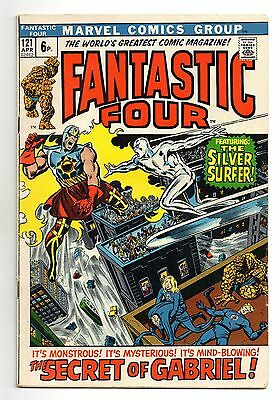 Fantastic Four Vol 1 No 121 Apr 1972 (VFN-) Marvel,Bronze Age (1970 - 1979)