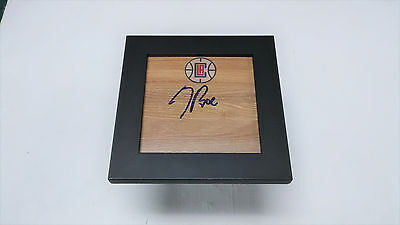DOC RIVERS Los Angeles Clippers Coach Signed + Framed Logo Floor