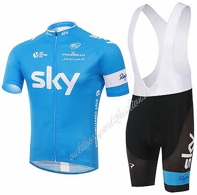 Short Sleeve jersey Bib Shorts Padded Sports Suit Bicycle Team Racing Cycling