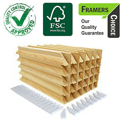 Stretcher bars for Canvas Framing - 38mm Gallery - Box 30 Pcs