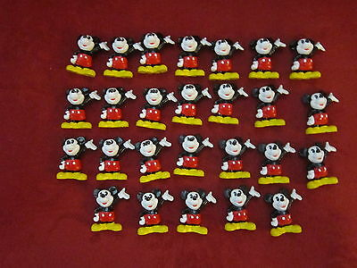 Lot of 26 NEW Vintage Mickey Mouse 1.75 inch PVC Figures