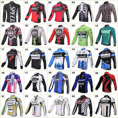 Many styles HOT Cycling Comfortable Bike/Bicycle Outdoor top jersey Long Sleeve