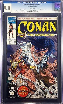 Conan (1970) #241 CGC 9.8 Todd McFarlane Scott Williams cover (1099754009)