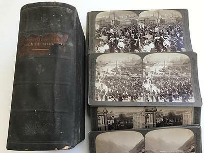 Boxed Collection 44 Original Stereoviews of Norway 1900s