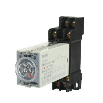 DC 24V 5A 8-Pin DPDT 0-5 Seconds 5Sec Power on Delay Timer Time Relay