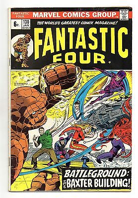 Fantastic Four Vol 1 No 130 Jan 1973 (FN-) Marvel, Bronze Age (1970 - 1979)